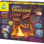 Dragons Sticky Mosaics