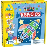 Vehicles Sticky Mosaics