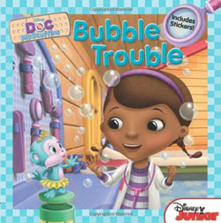 Doc McStuffins Bubble Trouble - Includes Stickers!