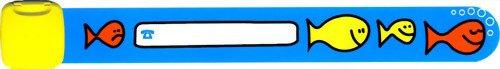 Infoband Child Safety ID Wristband - Blue Big Fish