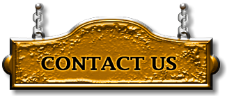"Golden sign board ""Contact Us"""